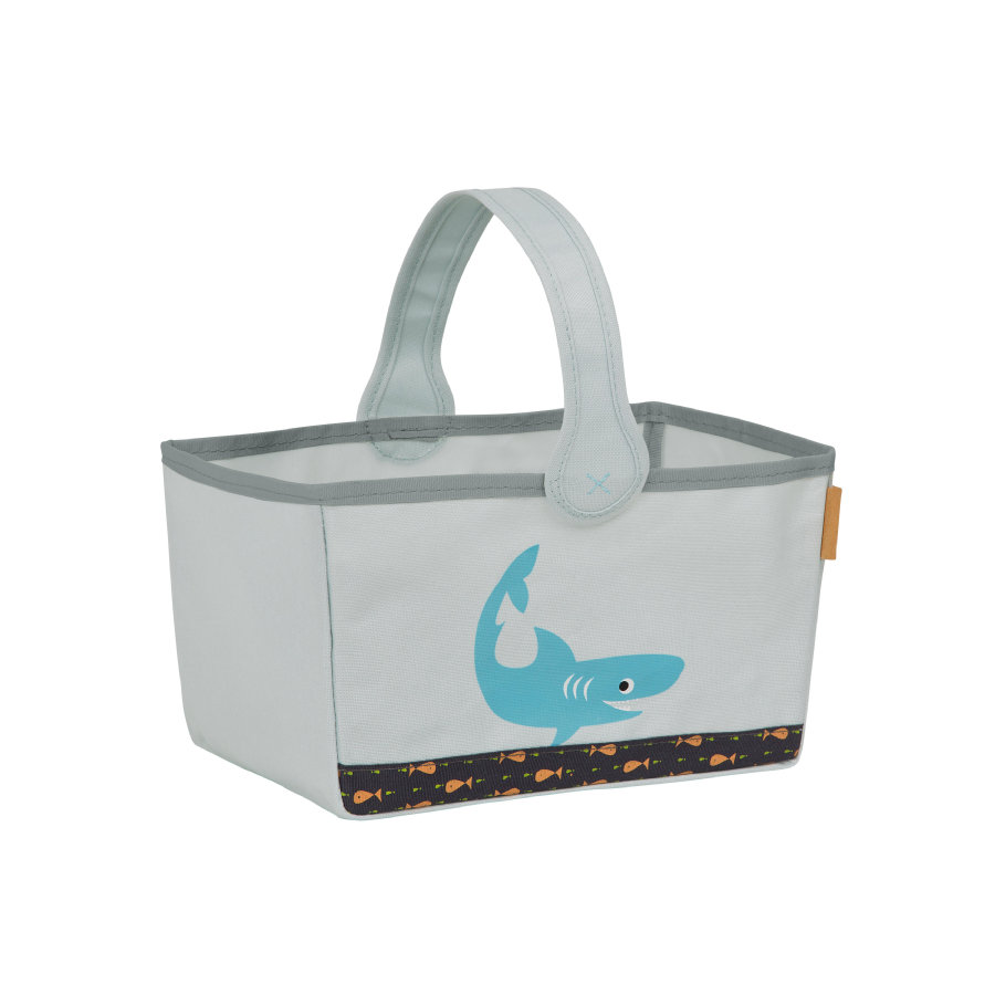 Lässig 4Kids Opbergmand Nursery Caddy Shark ocean