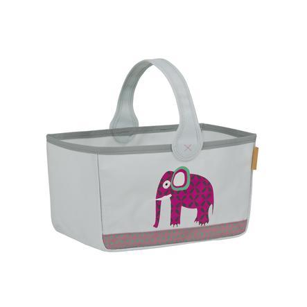 Lässig 4Kids Opbergmand Nursery Caddy Wildlife - Elephant
