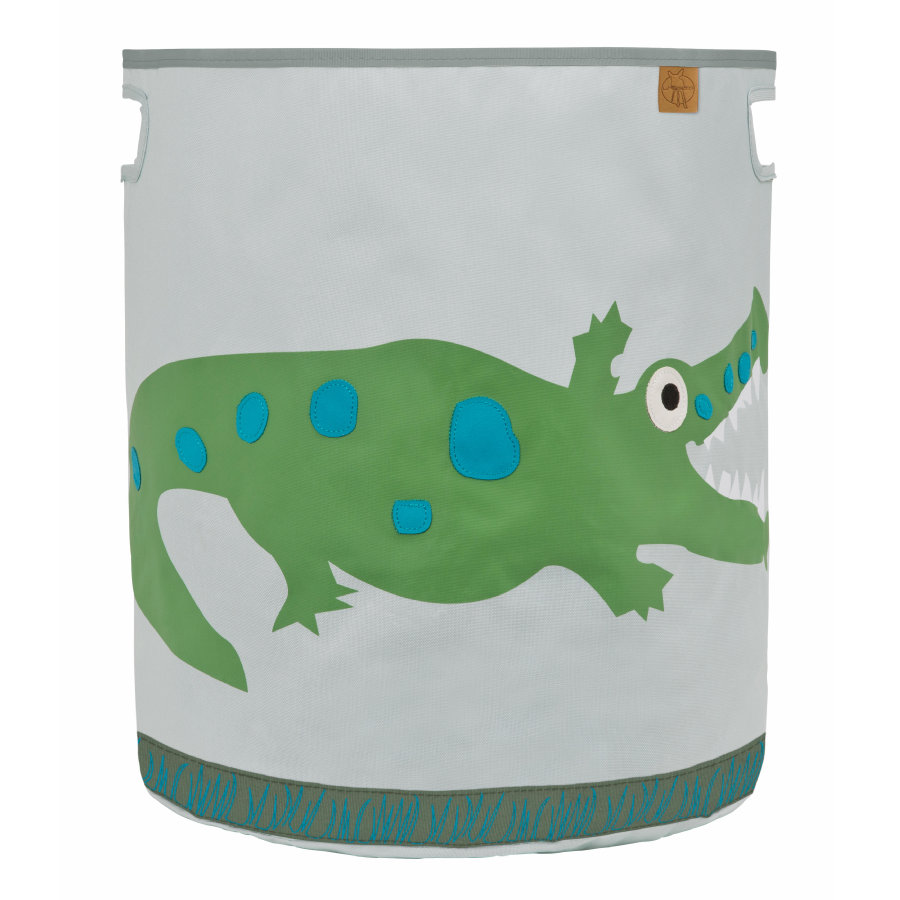 LÄSSIG 4Kids Toy Basket Crocodile granny