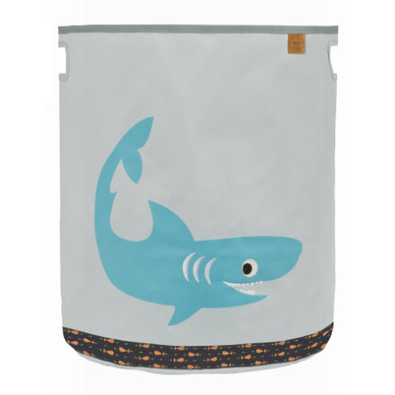Lässig 4Kids Speelgoedmand Toy Basket Shark ocean