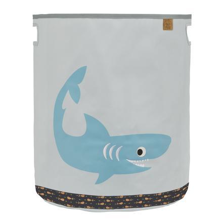 Lässig 4Kids Speelgoedmand Toy Basket Shark ocean