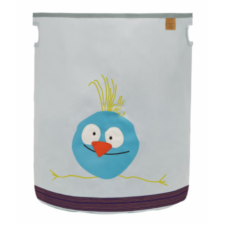 LÄSSIG 4Kids Bac à jouets Toy Basket Wildlife Birdie