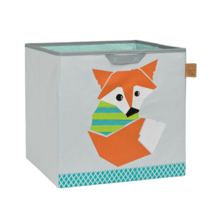 LÄSSIG 4Kids Toy Cube Storage Little Tree - Fox