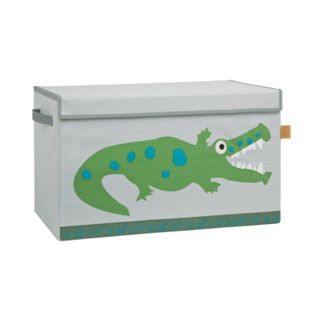 LÄSSIG 4Kids Coffre Toy Trunk Crocodile granny