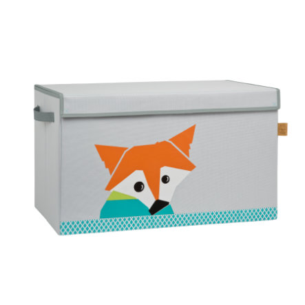 LÄSSIG 4Kids Coffre Toy Trunk Little Tree - Fox