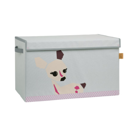 LÄSSIG 4Kids Toy Trunk Little Tree - Fawn