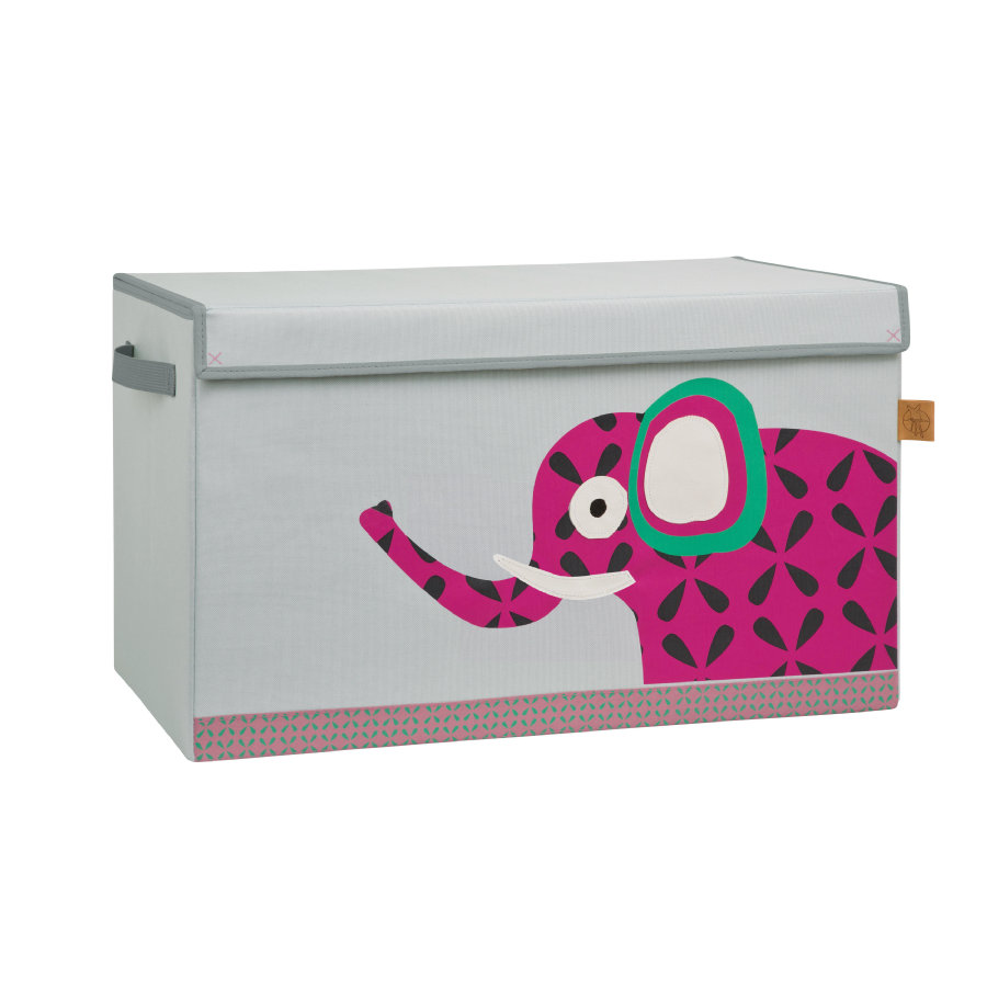 LÄSSIG 4Kids Toy Trunk Wildlife Elephant