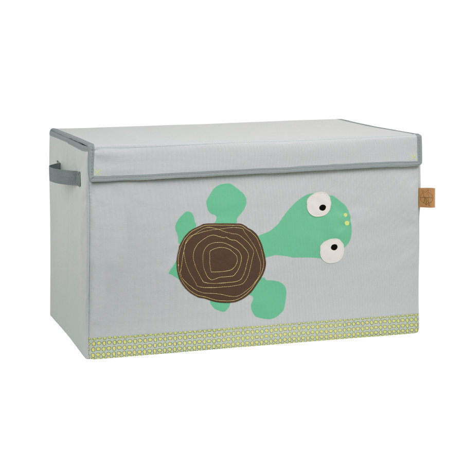 LÄSSIG 4Kids Coffre Toy Trunk Wildlife Turtle