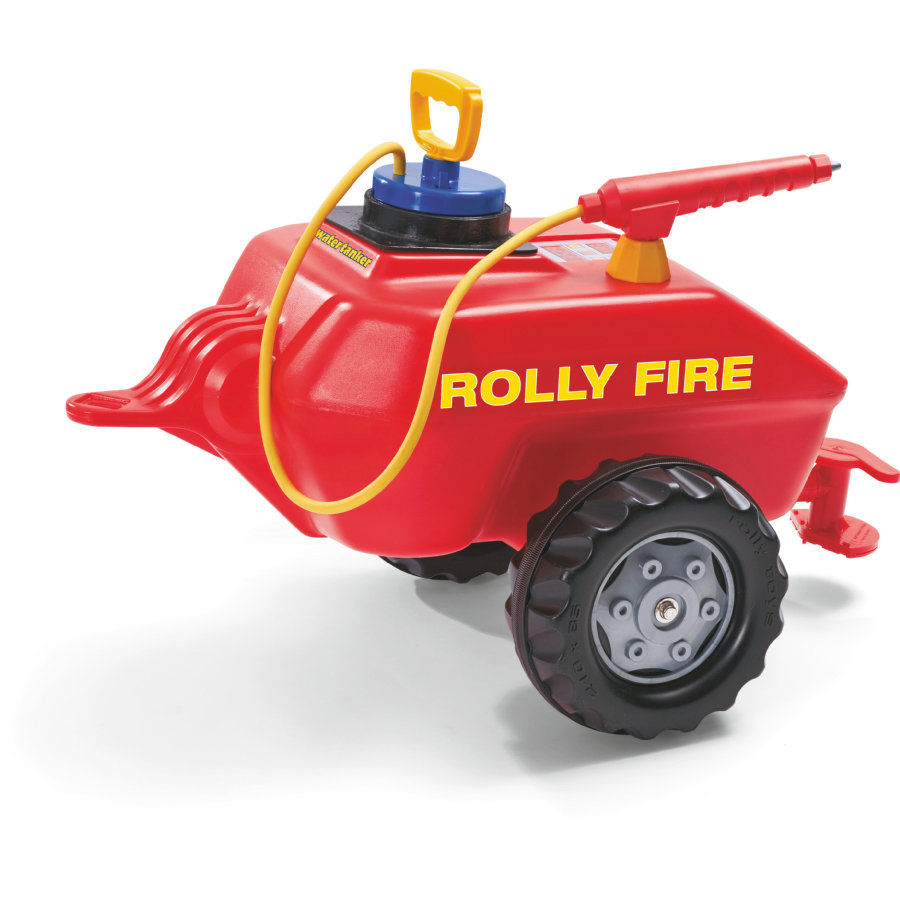 rolly®toys Remorque enfant rollyVacumax Fire à pompe 122967