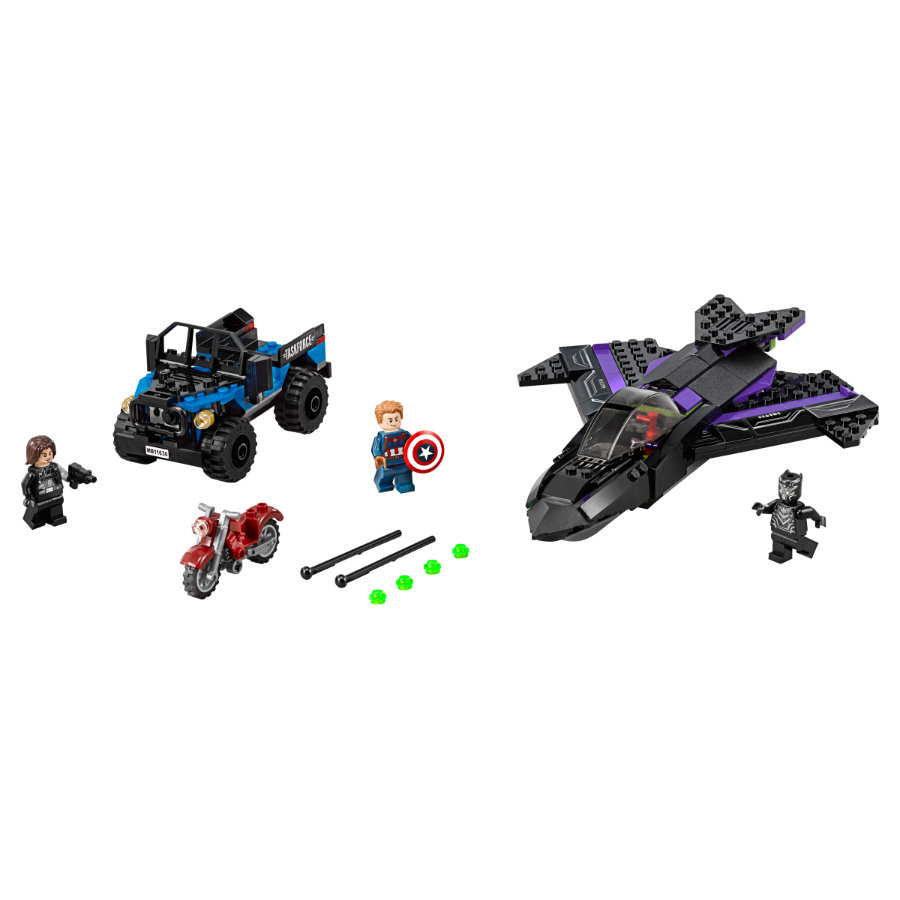 LEGO® Marvel™ Super Heroes - Black Panthers jakt 76047