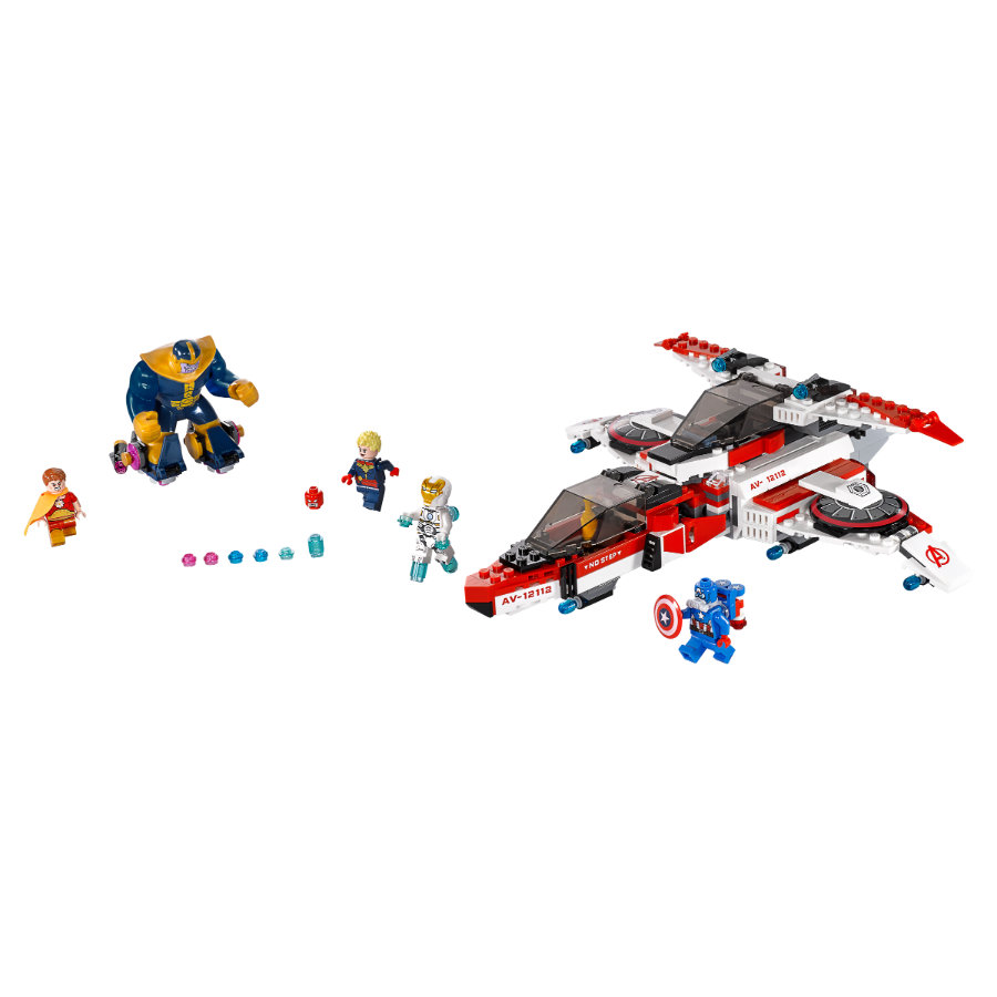 LEGO® Marvel™ Super Heroes - Missione Spaziale dell'Aven-Jet  76049
