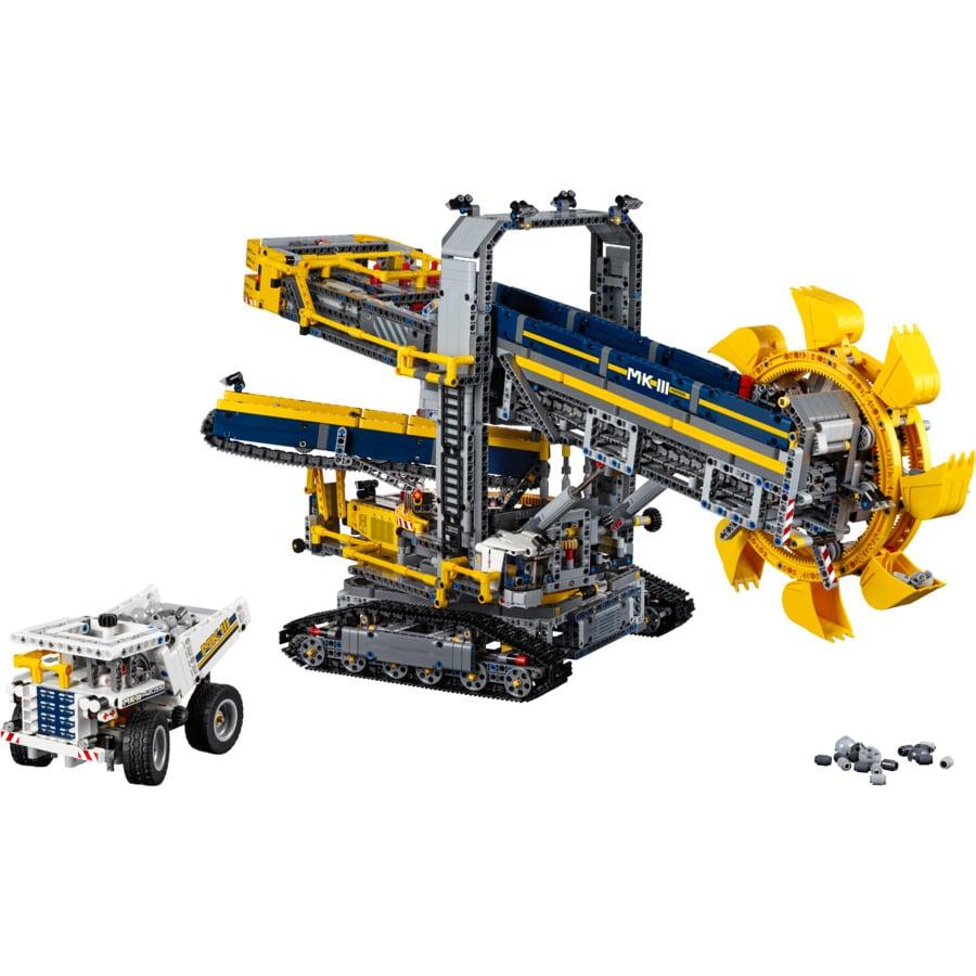 LEGO® Technic - La pelleteuse à godets 42055