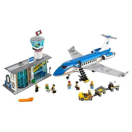 LEGO® City - Vliegveld passagiersterminal 60104