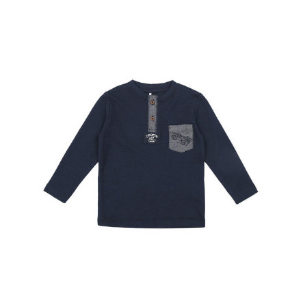 name it Boys Longsleeve Luffe dress blues