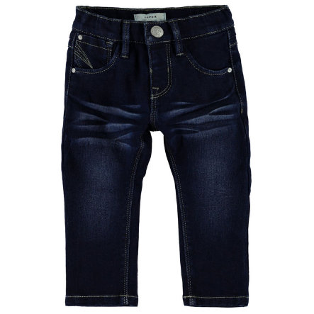 name it Spodnie Jeans Ada dark blue denim