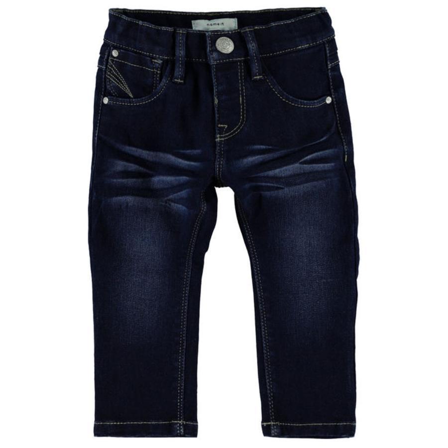 name it Jeans Ada mörkblå denim