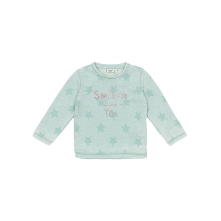 name it Girls Longsleeve Lami harbor gray