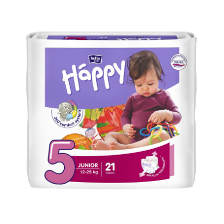 BELLA Happy Couches Junior T. 5 (12-25 kg), 21 pièces