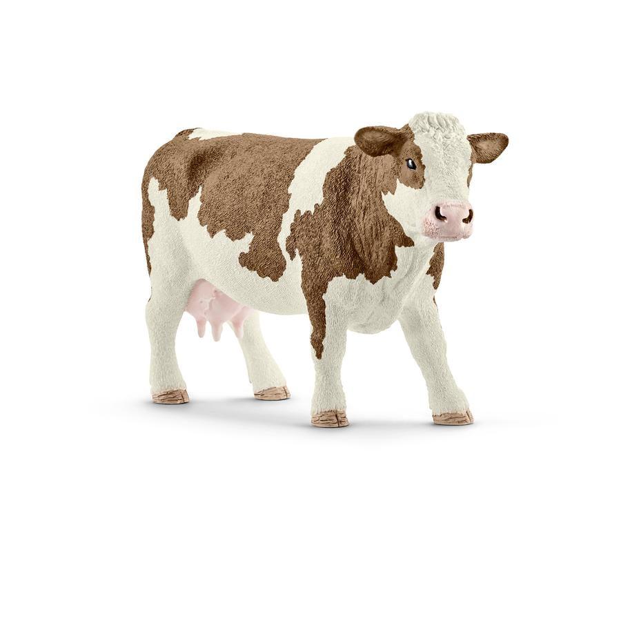SCHLEICH Vache Simmental 13801