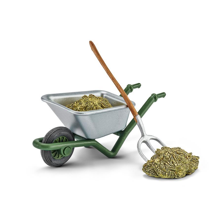 Schleich Sett for rengjøring av stallen på gården  42290