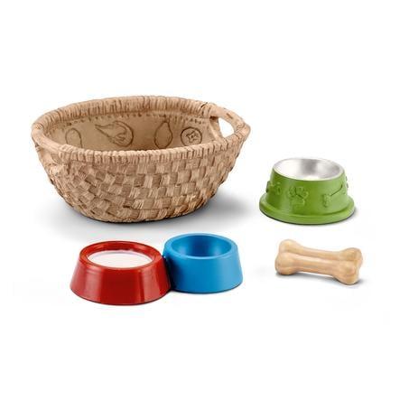 Schleich Comederos de juguete para perros y gatos 42293