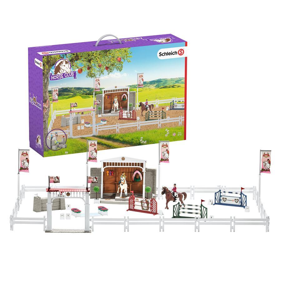 Schleich Figurine grand concours hippique cavalières chevaux 42338