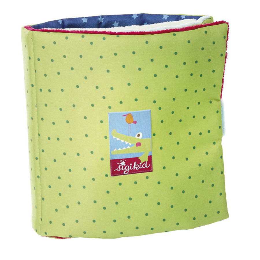 sigikid Crocodile's Friends - Textil Buch