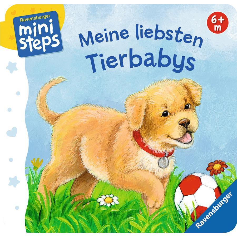 Ravensburger ministeps® - Meine liebsten Tierbabys
