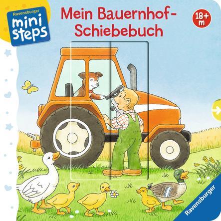 Ravensburger ministeps® - Mein Bauernhof-Schiebebuch