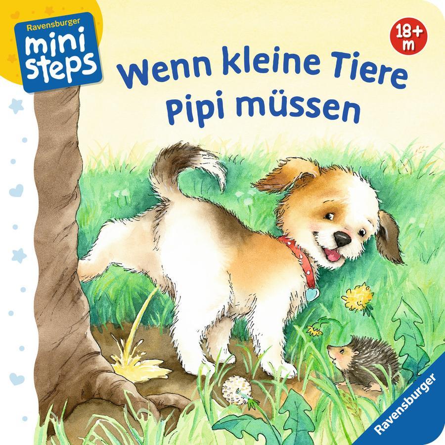 Ravensburger ministeps® - Wenn kleine Tiere Pipi müssen