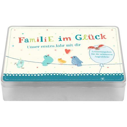 COPPENRATH Erinnerungsbox - Unser erstes Jahr mit dir - Familie im Glück