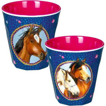 COPPENRATH Melaminový hrníček - Přátelé koní