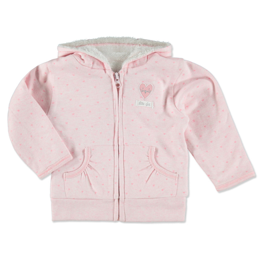 STACCATO Sweatjacke rose melange