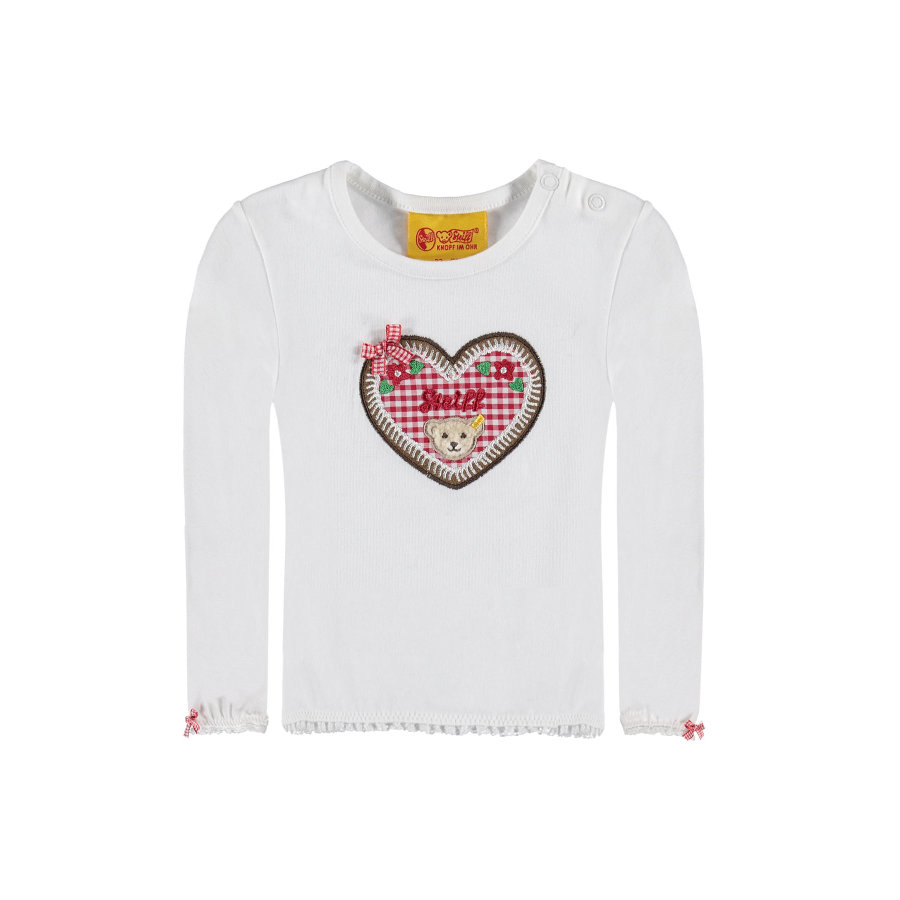 Steiff Girls Longsleeve bright white
