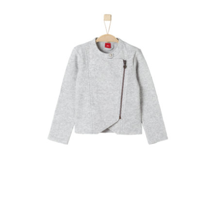 s.Oliver Girls Sweatjacke grey melange