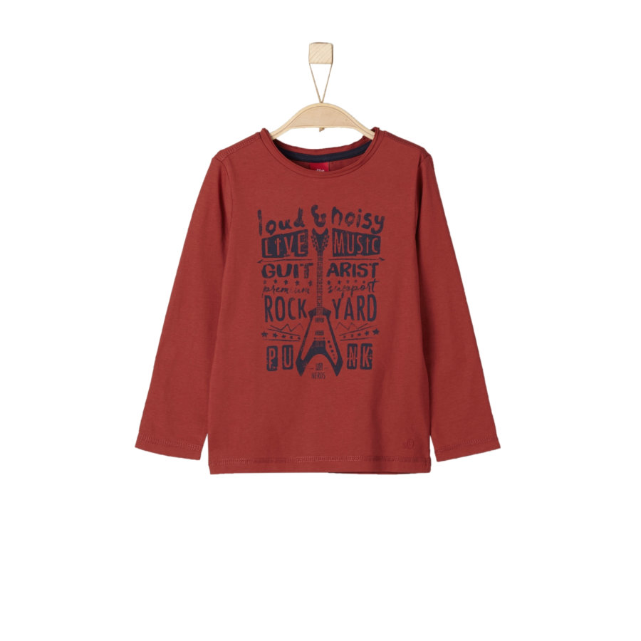 s.Oliver Boys Longsleeve dark red