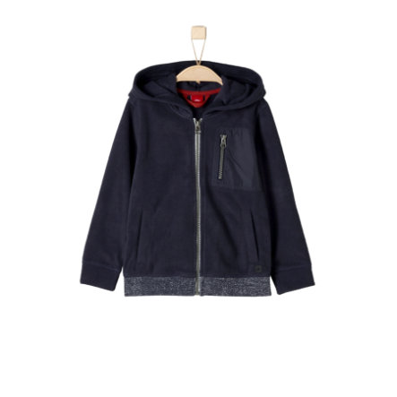 s.Oliver Boys Fleecejacke dark blue