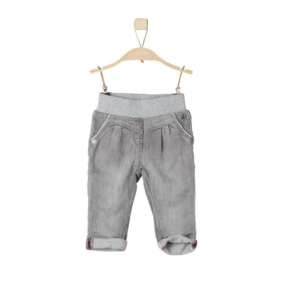 s.Oliver Girls Jeans grey denim stretch regular