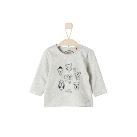 s.Oliver Girls Longsleeve nature melange