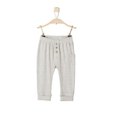 s.Oliver Boys Pantaloni natura melange