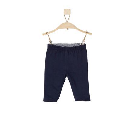 s.Oliver Boys Pantalones rayas azul oscuro