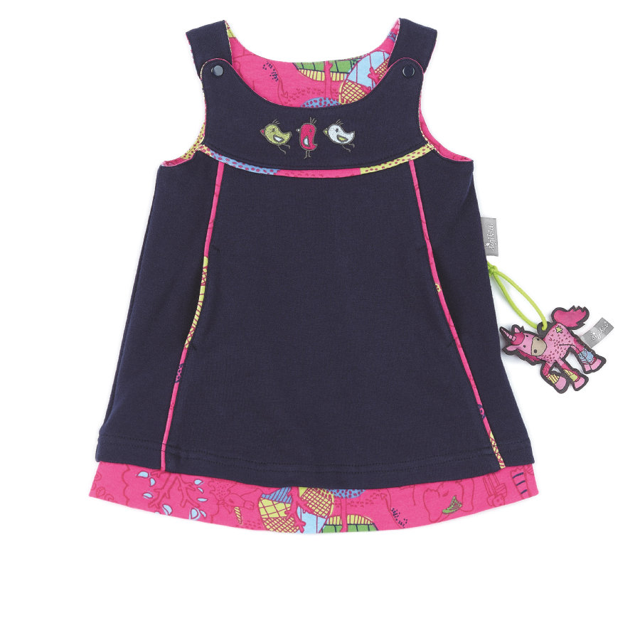 sigikid Girls Wendekleid peacoat