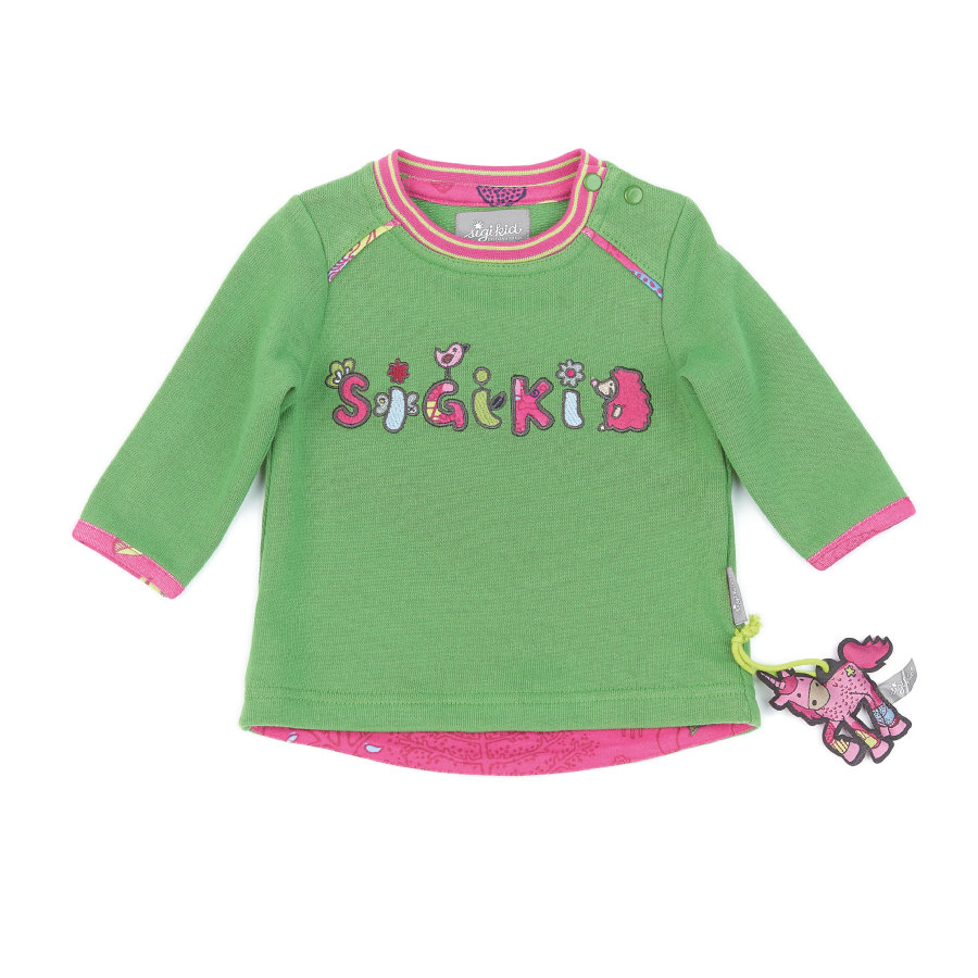 sigikid Girls Sweatshirt shamrock