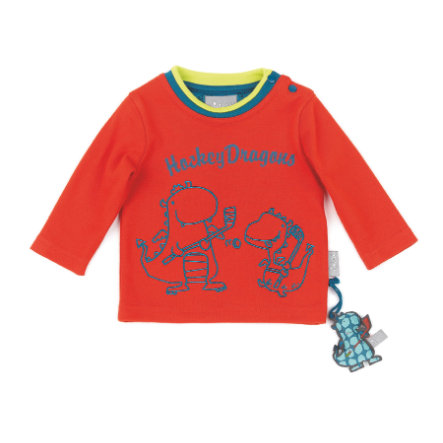 sigikid Chlapecké tričko s dlouhým rukávem z dýňového pyré