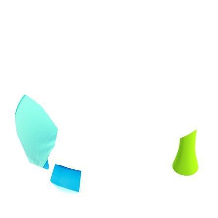 Smoby Cotoons Dětské sedátko s aktivním stolem, modré