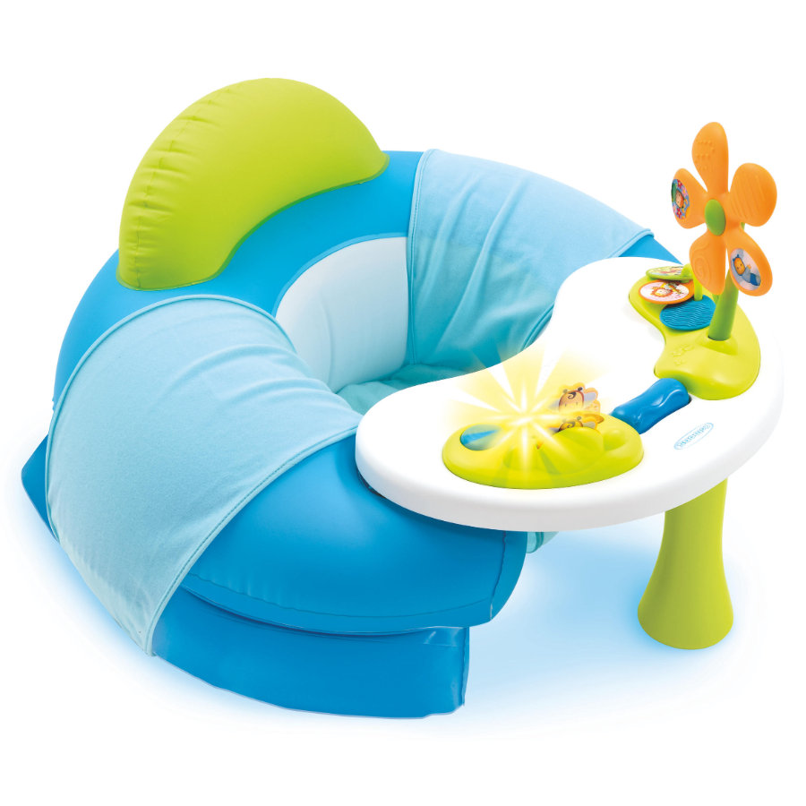 Smoby Cotoons Aktivitetsstol för barn, blå