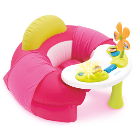 Smoby Cotoons Baby-Sete med Aktivitetsbord, Rosa