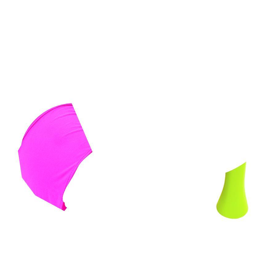 Smoby Cotoons Dětské sedátko s aktivním stolem, růžové
