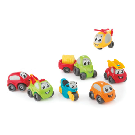 Smoby Vroom Planet Minibilar Collector Box