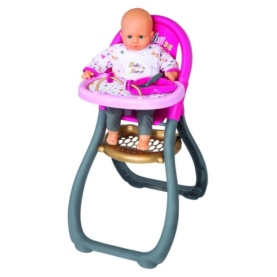 Smoby Jídelní židlička pro panenky